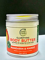Органический крем – баттер для тела Мандарин и Манго Petal Fresh Refreshing Mandarin & Mango