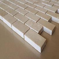 Декоративная мозаика Лофт из мрамора полированная, лист 1х30,5х30,5, фото 1