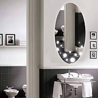 """Овальное зеркало """"Bubble"""" с подсветкой, фото 1"""