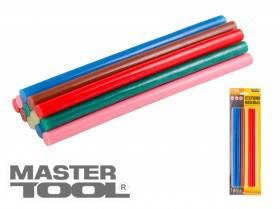 MasterTool  Стержни клеевые 11,2*200 мм, 12 шт, цветные  , Арт.: 42-0155
