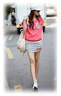 Легкий летний костюмчик розовый, фото 1