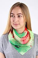 Зеленый женский платок