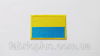 "Термоаппликация  ""Флаг Украины""  4,5х6,5 см"