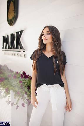 Черная блузка женская, фото 2