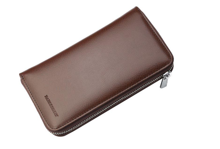 Женский кошелек BAELLERRY Multi-card Women Wallet кожаное портмоне Коричневый (SUN1585)
