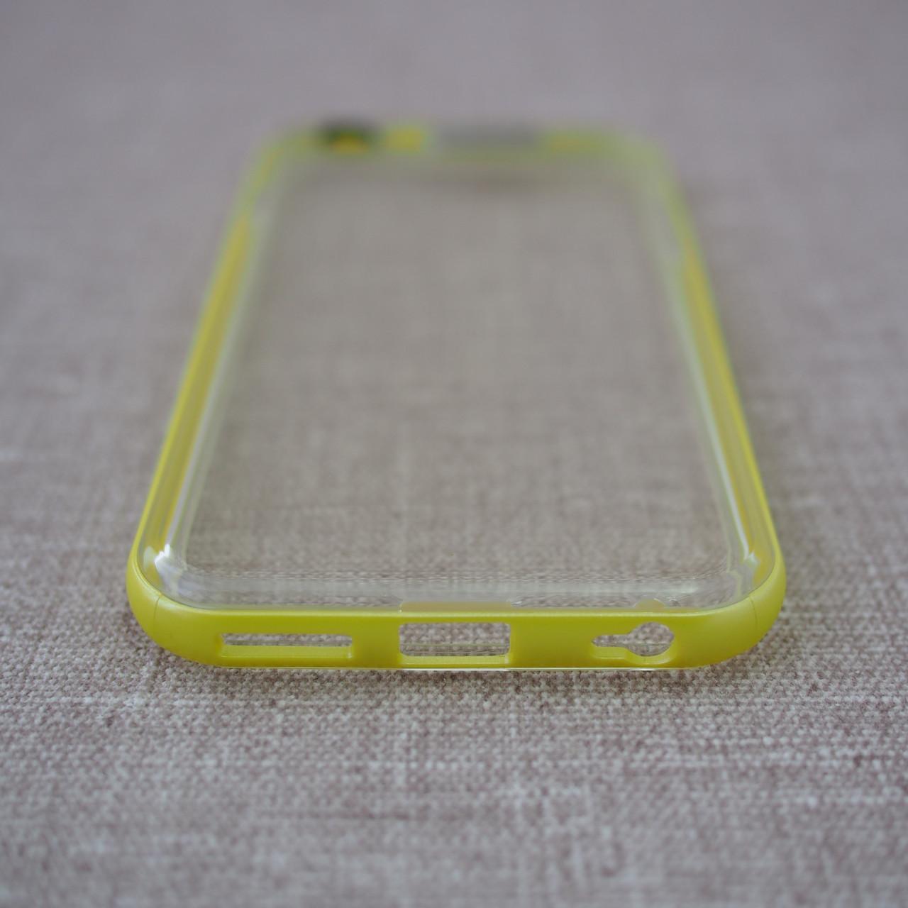 Накладка ROCK Light Tube iPhone 6 green Для телефона Чехол