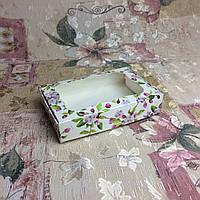 Коробка для пряников Весна с окном 100*150*30