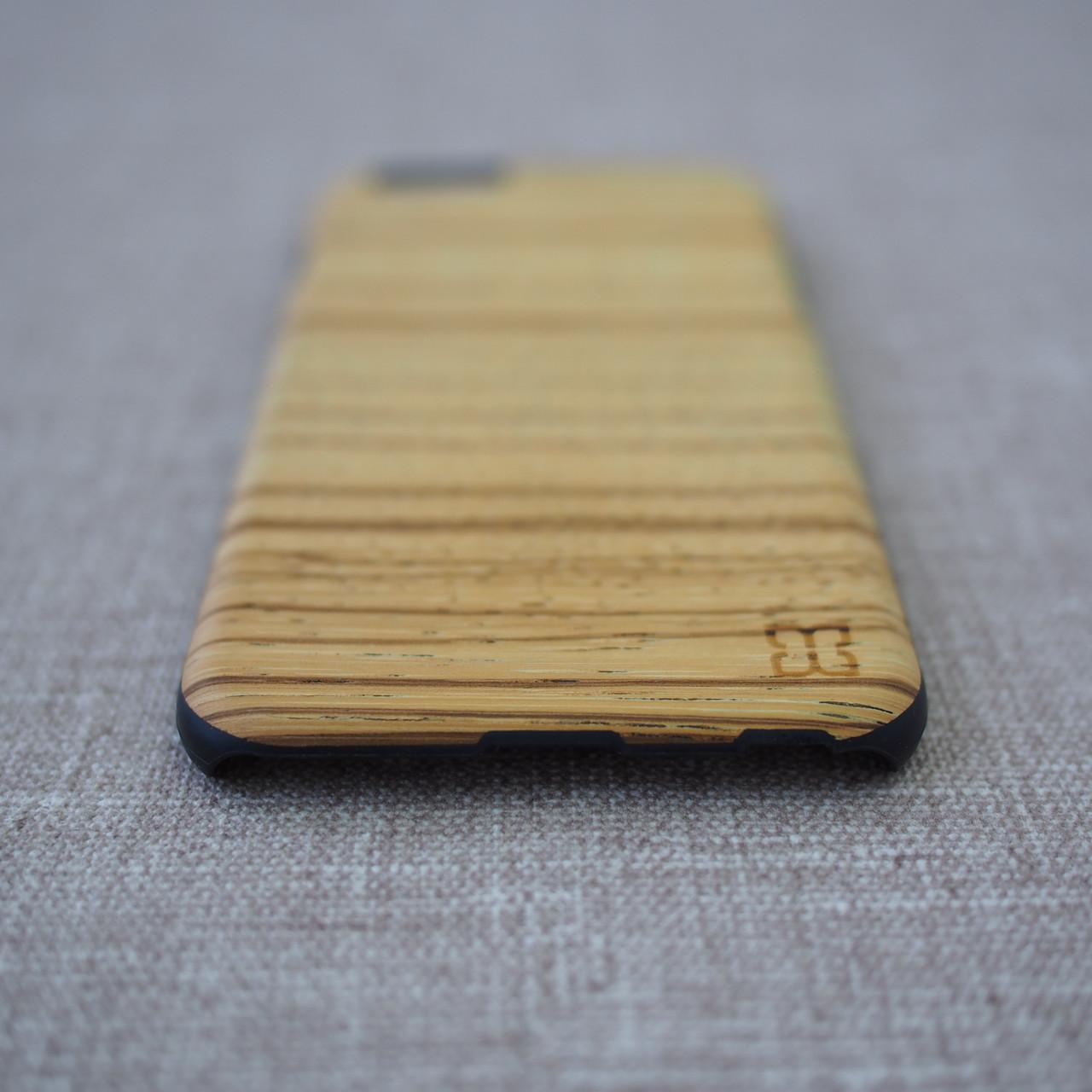 Mannwood Wood iPhone 6 Zebrano