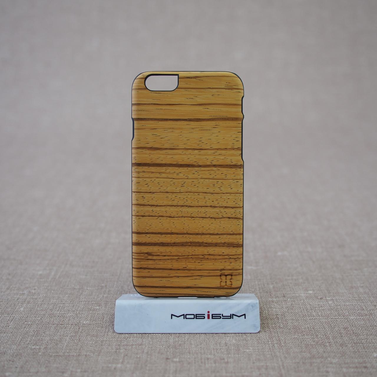 Чехол Mannwood Wood iPhone 6 Zebrano/black EAN/UPC: 8809339476959