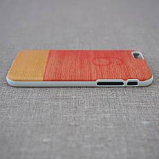 Чехол Mannwood Wood iPhone 6 Little Peach/white (M1483W) EAN/UPC: 8809339477086, фото 3