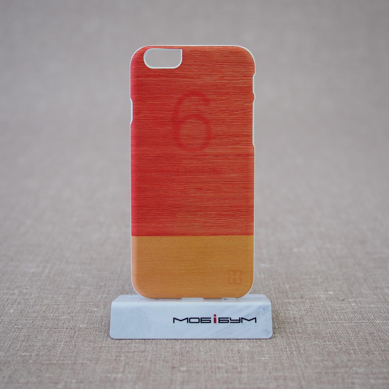 Чехол Mannwood Wood iPhone 6 Little Peach/white (M1483W) EAN/UPC: 8809339477086