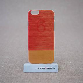 Чехол Mannwood Wood iPhone 6 Little Peach/white (M1483W) EAN/UPC: 8809339477086, фото 2