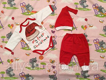 """Комплект для новонароджених """"Різдво-352"""" (футер)"""