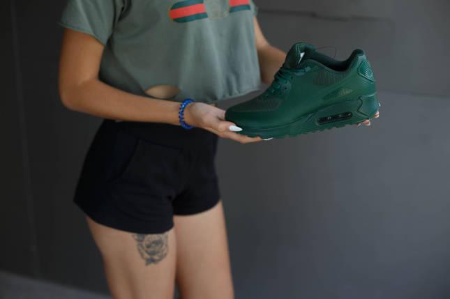 Кроссовки мужские Nike Air Max.Цвет зелёный, фото 2