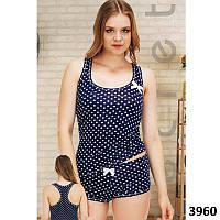 Комплект-двойка женский  узорные майка и шорты Pink Secret PK3960 1547584c77060
