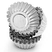 Металлические формочки для кексов по 10шт
