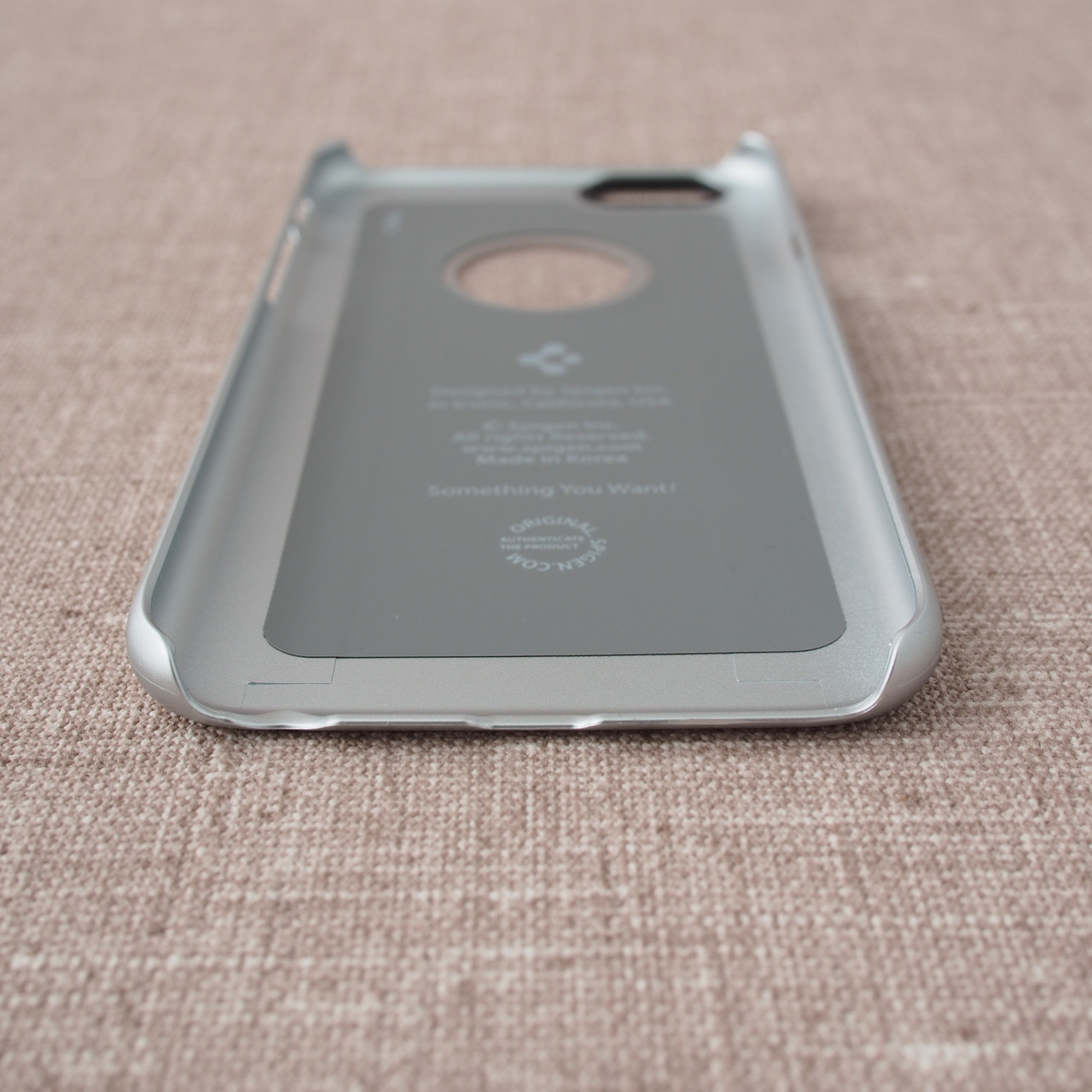 Spigen Thin Fit A iPhone 6 Satin Silver