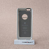 Чехол Spigen Thin Fit A iPhone 6 Satin Silver (SGP10942) EAN/UPC: 8809404212642, фото 2
