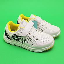 Кроссовки  белые для мальчиков 3279A Tom.m размер 29,32