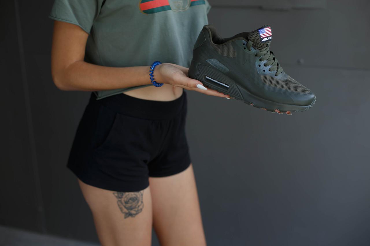 Кроссовки мужские Nike Air Max.Цвет хаки