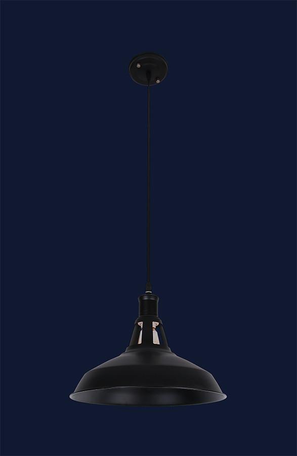 Подвесной светильник тарелка 7079183-1 BK (300)