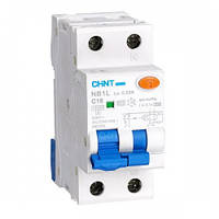 Дифференциальные автоматы NB1L 1(3)P+N 100mA тип AC
