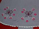 Колготы с вшитой юбкой Бабочка сиреневые (DeMelatti, Турция), фото 2