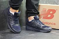 Кроссовки мужские в стиле New Balance 999 код товара SD-6024. Темно-синие