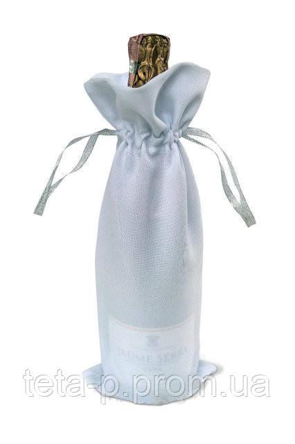 Мешочек на бутылку шампанского с логотипом или надписью