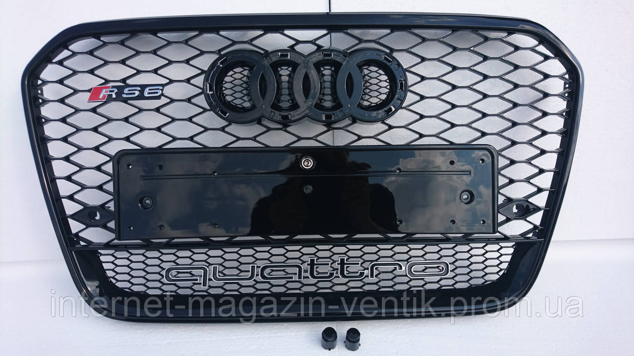 Решетка радиатора Audi A6 C7 RS6 Quattro 2012-2015