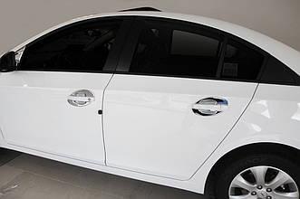 Chevrolet Cruze (2009-) Накладки под ручки 8шт