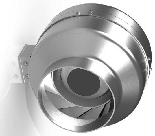 Круглый канальный вентилятор Веза C-VENT-200В