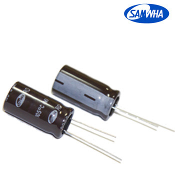 220mkf - 250v  RD 18*40  SAMWHA, 105°C конденсатор електролітичний