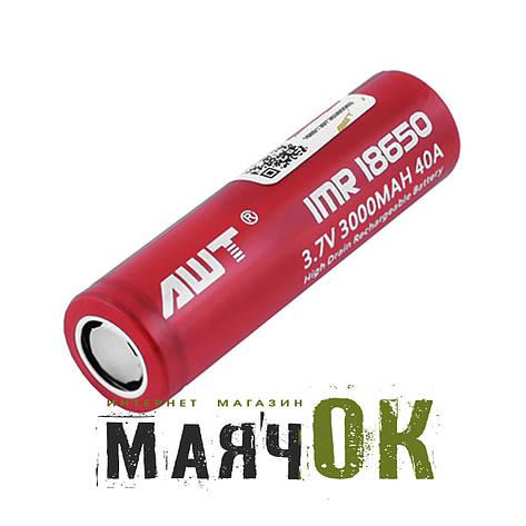 Аккумулятор AWT 18650-3000mAh, фото 2