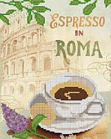 """Схема для вышивки бисером """"Эспрессо в Риме"""""""