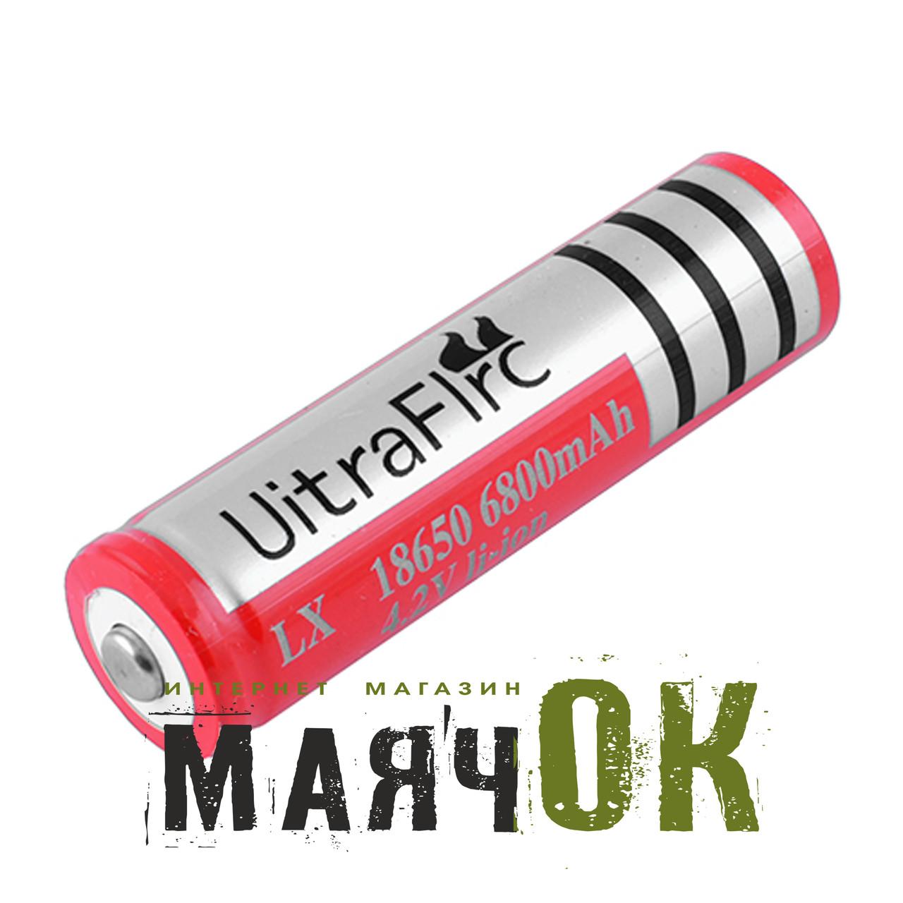 Аккумулятор Ultra Fire, 18650-6800mAh