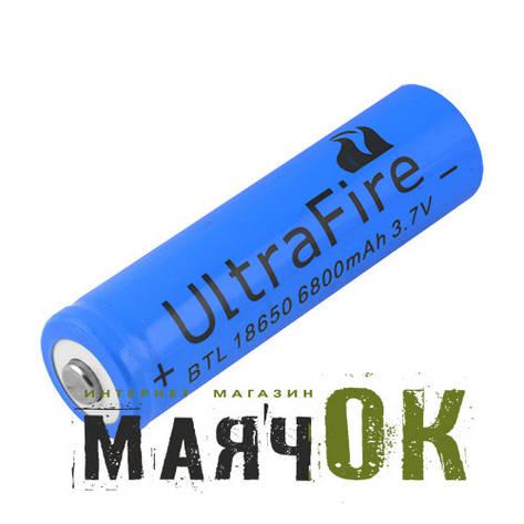 Аккумулятор Ultra Fire, 18650-6800mAh, фото 2