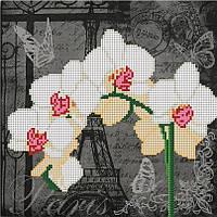 """Схема для вышивки бисером """"Орхидея Париж"""""""