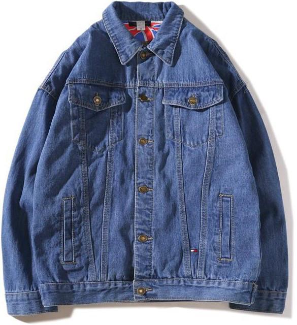Джинсовая куртка Tommy Hilfiger (Хилфигер) синяя
