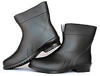 37 і 39р Жіночі гумові чоботи чорного кольору (Г-767ч) 6b871fb724b95