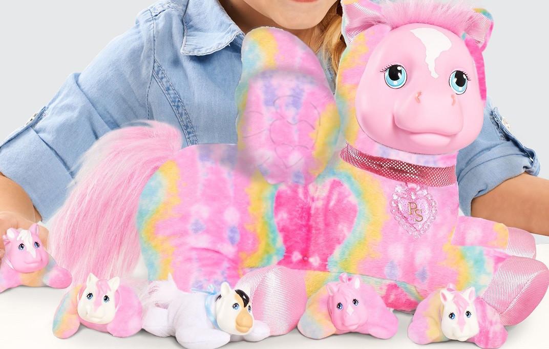 Мягкая игрушка Беременный Пегас с детками Pegasus Surprise, оригинал из США