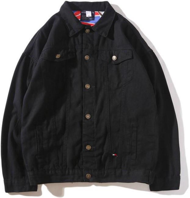 Джинсовая куртка Tommy Hilfiger (Хилфигер) черная