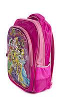 Рюкзак шкільний Принцеси 1517 рожевий, фото 2