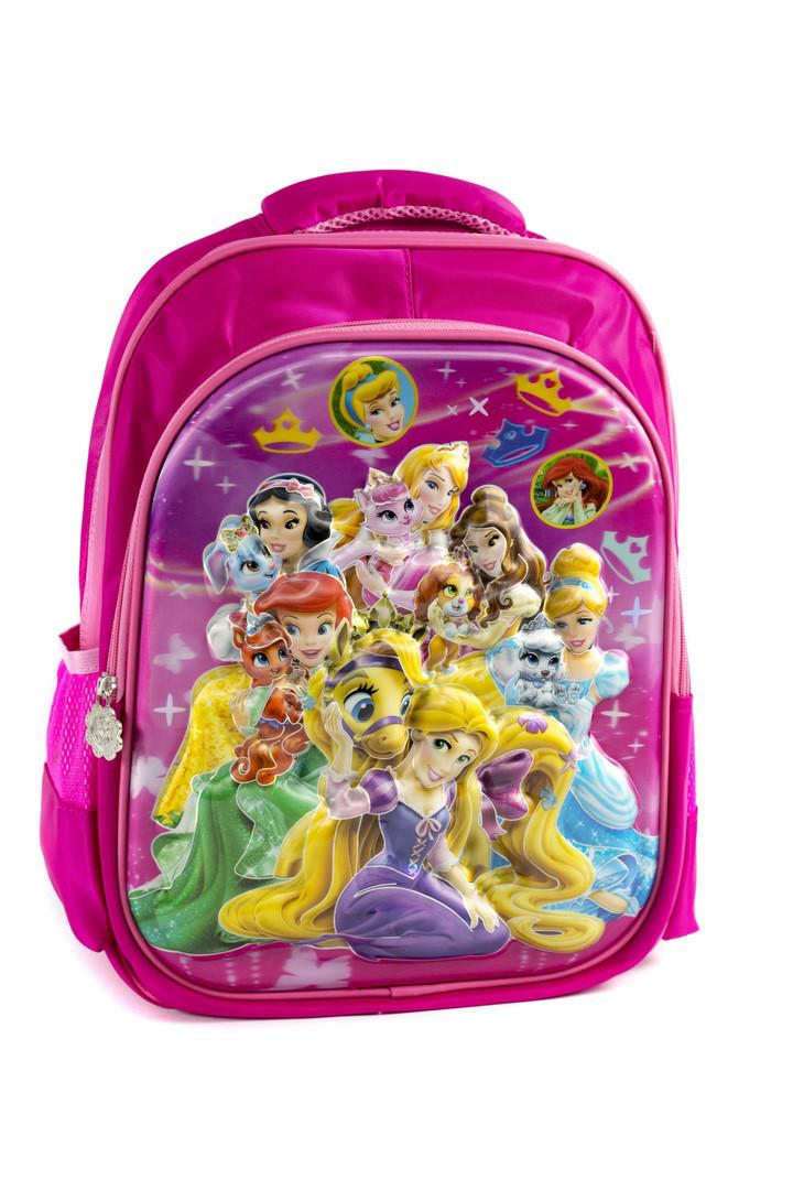 Рюкзак шкільний Принцеси 1517 рожевий