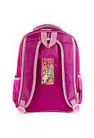 Рюкзак шкільний Принцеси 1517 рожевий, фото 3
