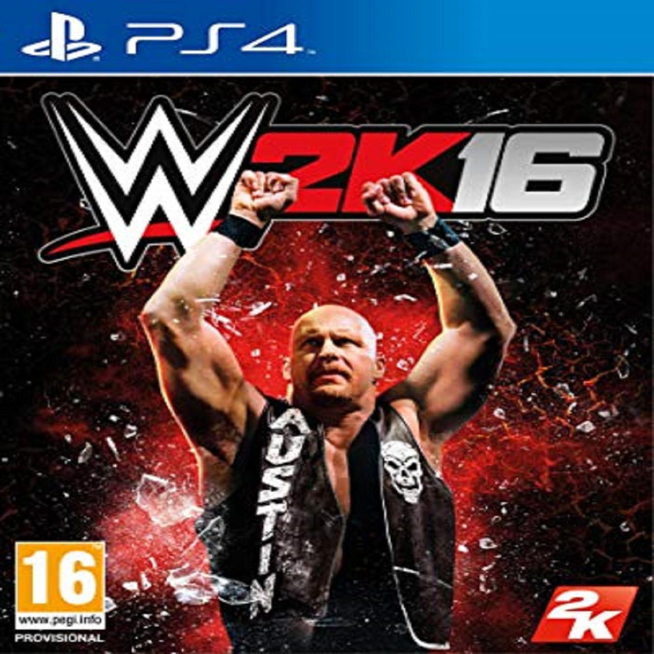 WWE 2K16 (англійська версія) PS4 (Б/В)
