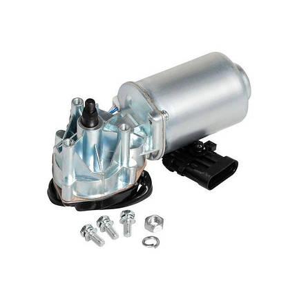 Мотор-редуктор стеклоочистителя 1118/2123/2170 (вал 12мм) перед (VWF 0170) СтартВольт, фото 2
