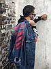 Джинсовая куртка Off-White (Офф Вайт) синяя, фото 8