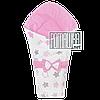 Демисезонный конверт плед 90х80 для выписки новорожденного осенний весенний одеялко осень весна 4320 Розовый