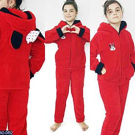 Домашний костюм - пижамка с ушками Minnie, подросток, 12 лет, 14 лет расцветки